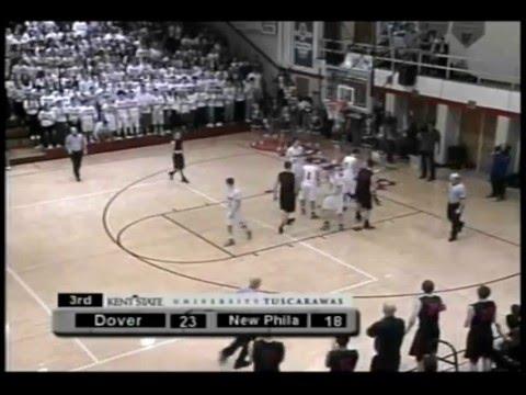 New Philadelphia @ Dover Boys Basketball 02-12-16