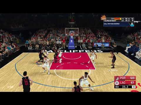 Crazy NBA 2K19 Euro Dunk and crazy block