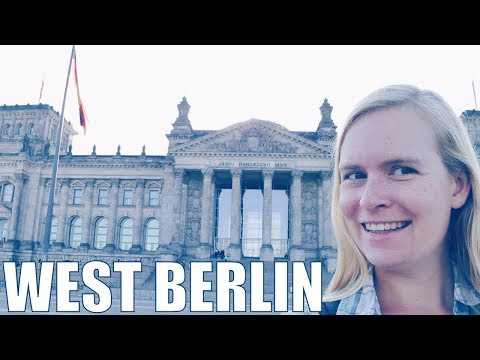 Berlin, Germany | travel vlog: West Berlin, Charlottenburg Palace, Kaiser Wilhelm Memorial Church