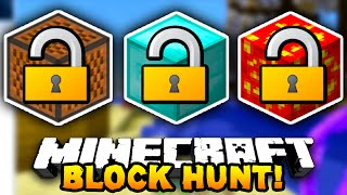 Minecraft BLOCK HUNT!