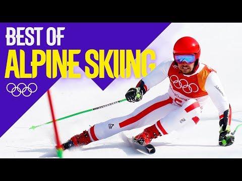 Best Of... Alpine Skiing! | Pyeongchang 2018 | Eurosport