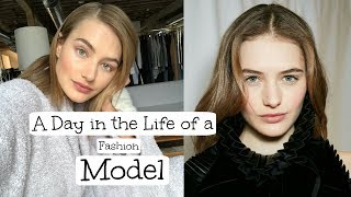 A Day In My Life As A Model | Working, Travel, Eating, & Fitness | Sanne Vloet