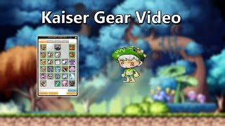 [GMS Luna] 50k STR lvl 250 Kaiser Equipment Video