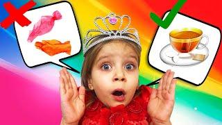 Даша учит правильным манерам. Про хорошие манеры детям. Видео скетчи для детей.