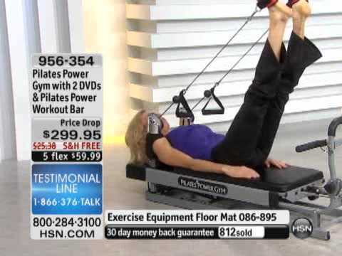 Pilates Power Gym with 2 DVDs and Pilates Power Workout ...