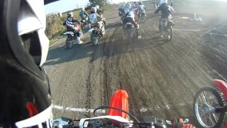 First dirtbike practice and race at Kawagoe, Saitama