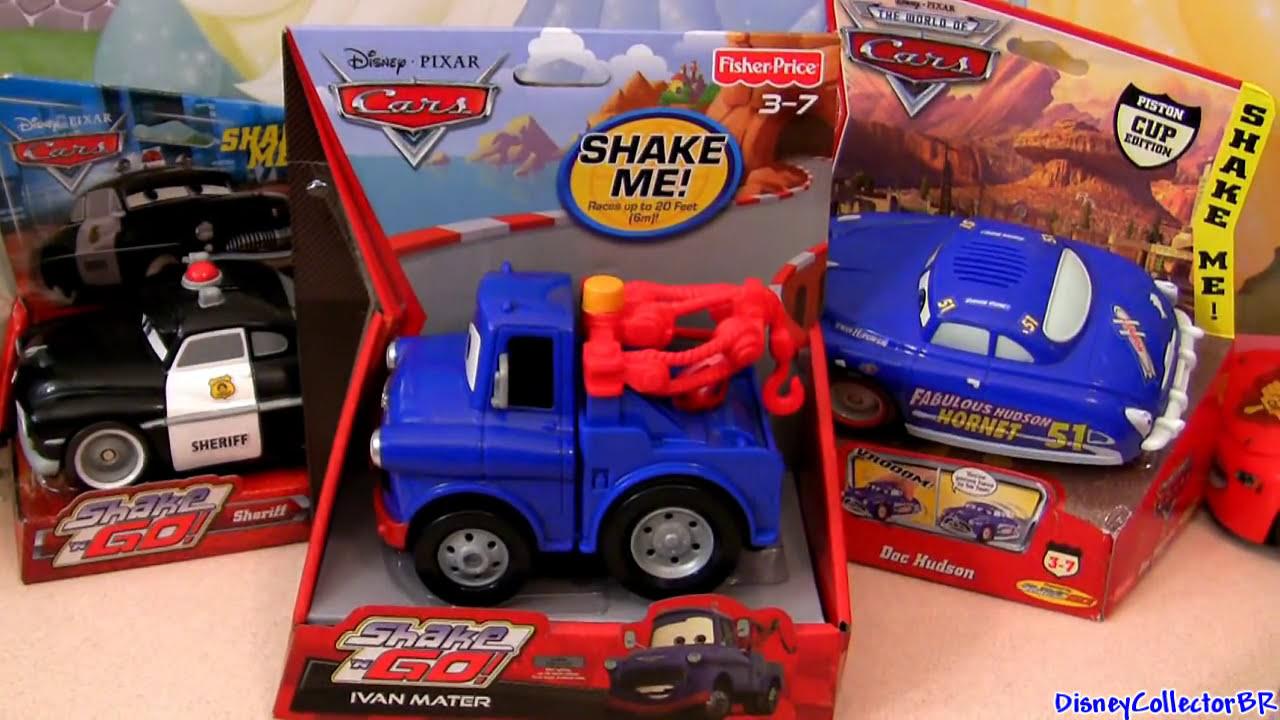 Carros 2 Shake N Go Ivan Mater Da Fisher Price Disney Mate