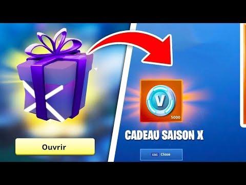 RECEVEZ VOTRE CADEAU SAISON 10 !!