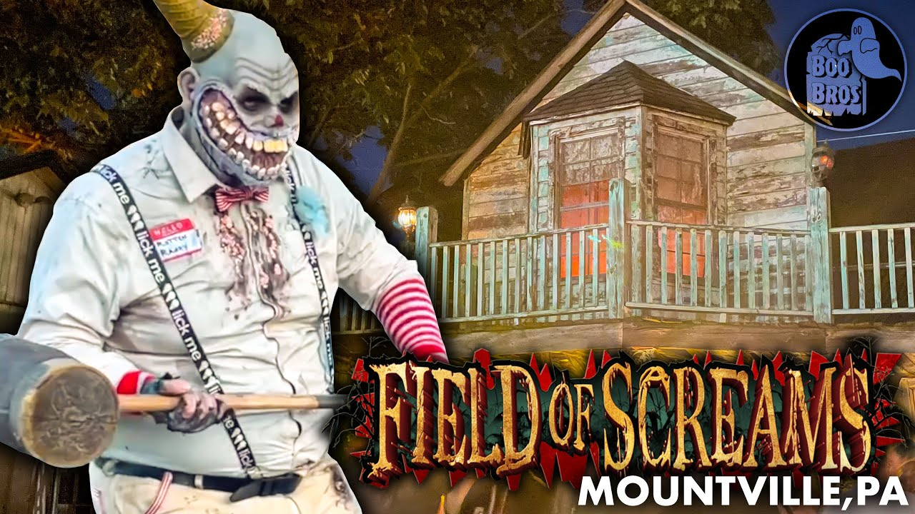 Download Field of Screams 2021 OPENING NIGHT   Lancaster, PA   ALL Haunted Houses & BEST Haunted Hayride