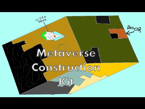 Metaverse Construction Kit | BEAUTIFULLEST HOUSE ON EARTH! – First Impression Silliness