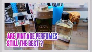Vintage vs Modern Perfumes
