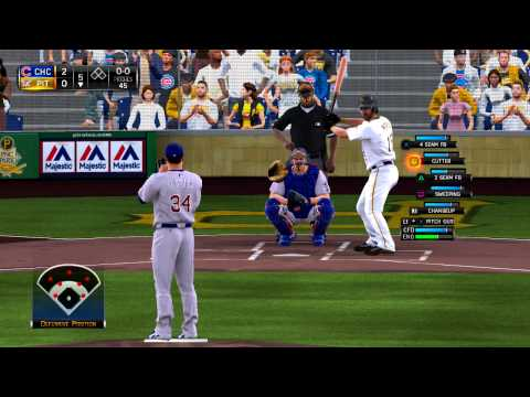MLB 15 The Show Chicago Cubs vs Pittsburgh Pirates