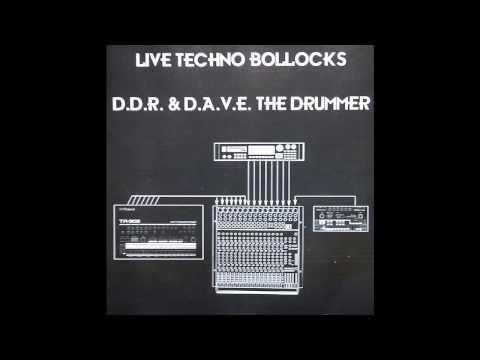 D.A.V.E. The Drummer - Live Techno Bollocks