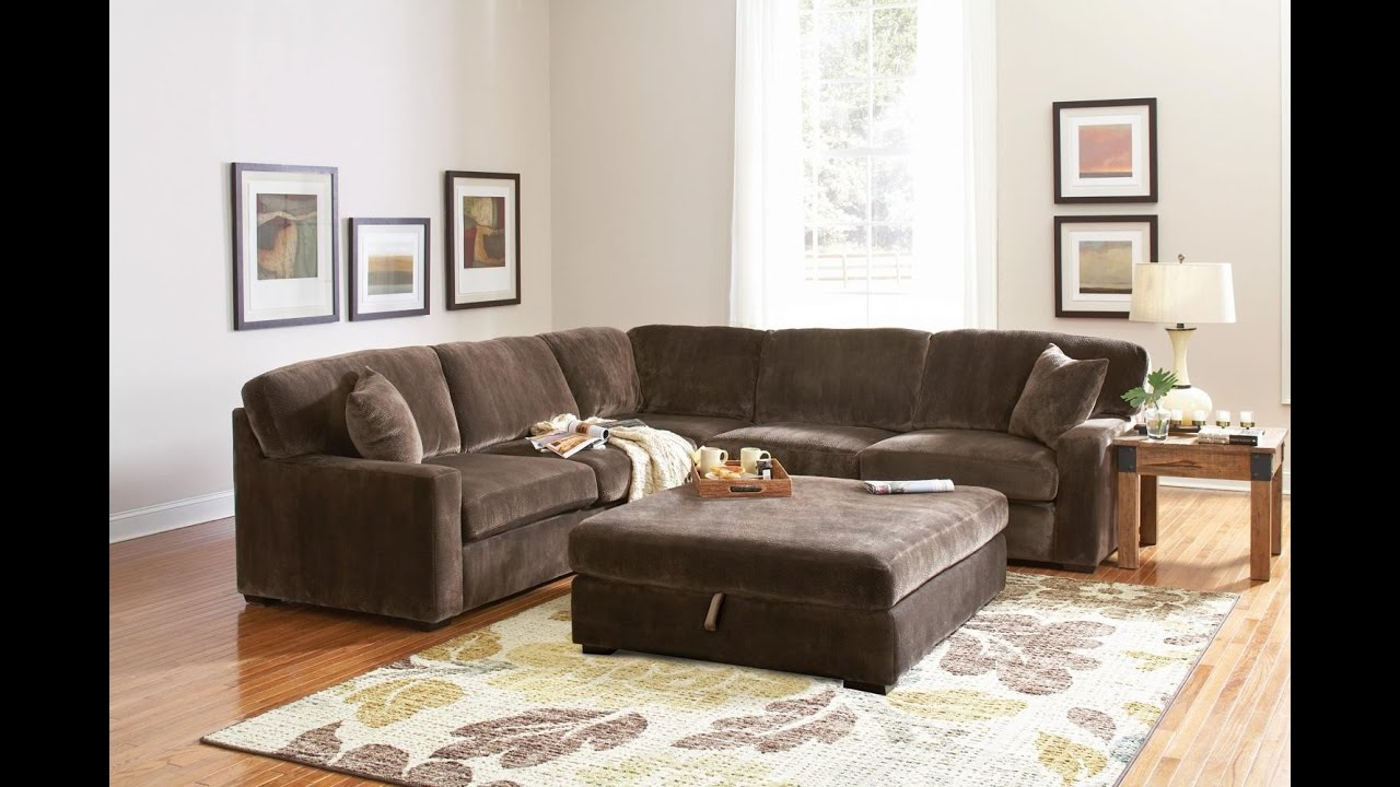 Furniture_ Contemporary Oversized Sectional Sofas