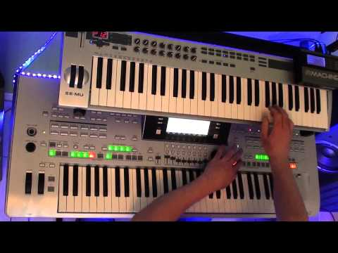 one & one  Robert Miles played on tyros 3 and vst plugins
