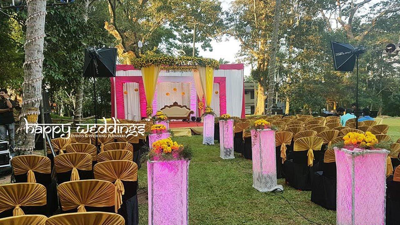Wedding decoration in thiruvananthapuram at trivandrum golf club by wedding decoration in thiruvananthapuram at trivandrum golf club by team happy weddings junglespirit Images