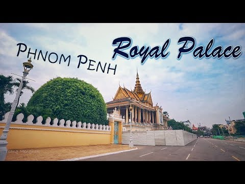 Phnom Penh Royal Palace Cambodia