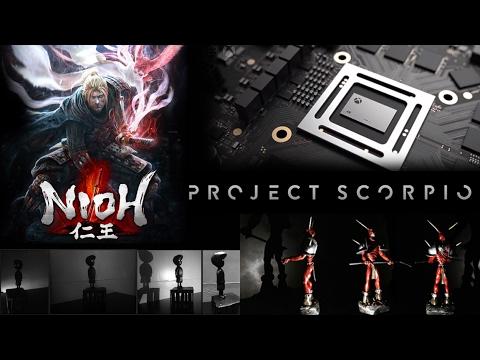 Xbox Scorpio, Nioh και απίθανα gaming γλυπτά! | Unboxholics