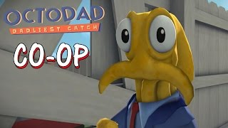 Octodad: Dadliest Catch - CO-OP Mode [Father and Son] PS4 Gameplay
