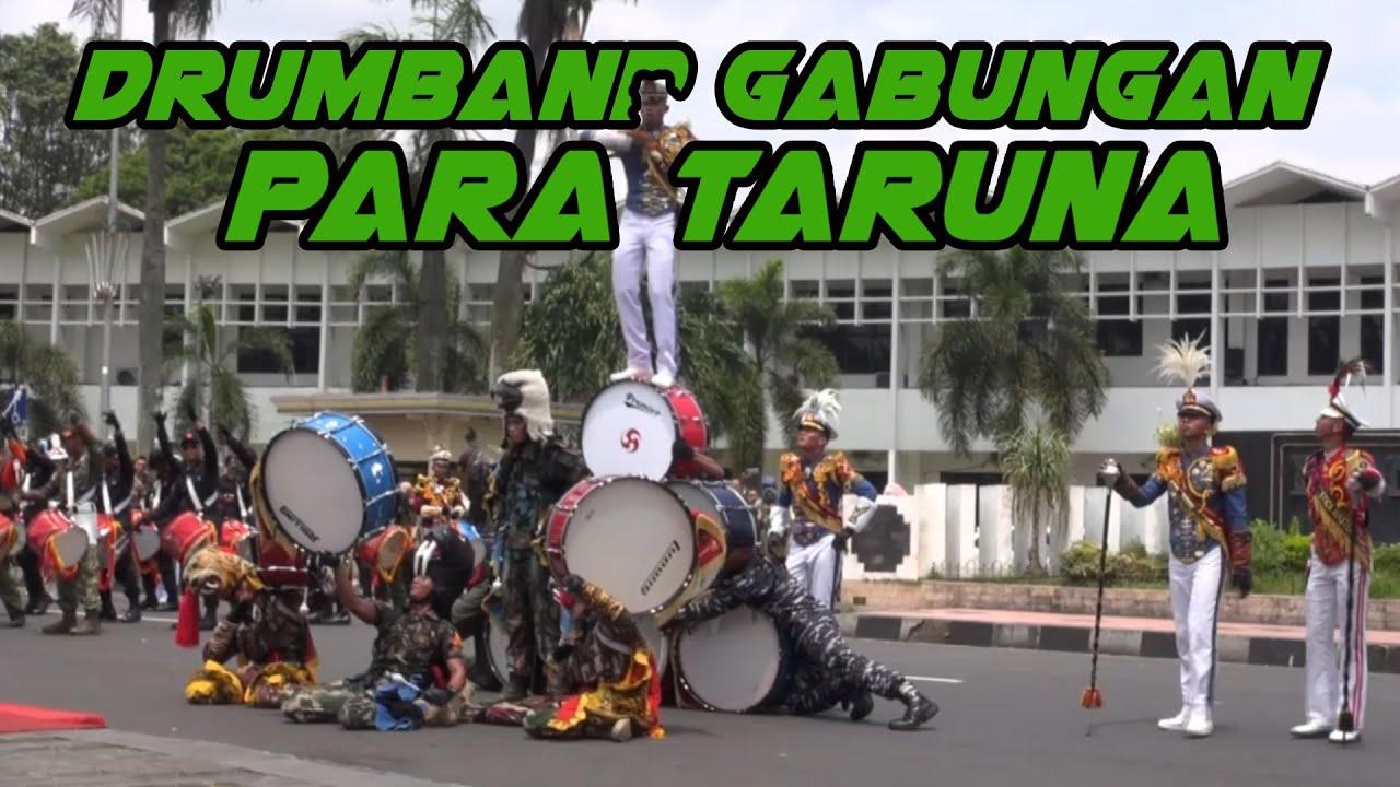 LUAR BIASA KEREN!!! Atraksi Parade Drumband Gabungan Taruna Akmil, AAU, AAL, Akpol dan IPDN