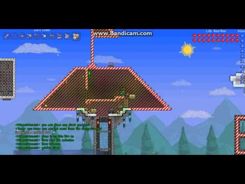 Terraria: Unlimited Gold chest spawner