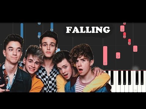Why Don't We - Falling (Piano Tutorial)