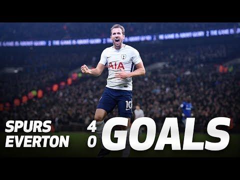 GOALS: Spurs 4-0 Everton