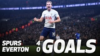 GOALS: Spurs 4-0 Everton