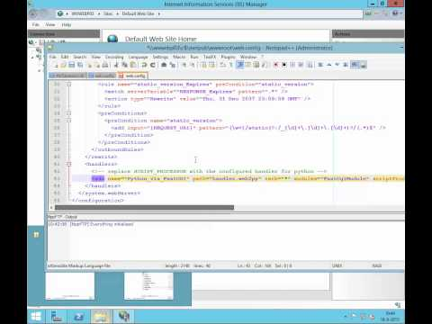 Web2py on IIS 8.5 (windows 2012R2)