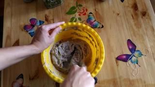Домашний бездрожжевой хлеб из цельнозерновой муки