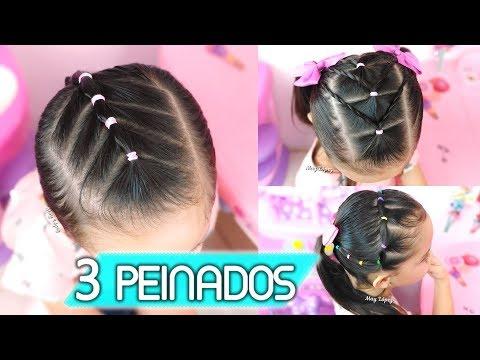 PEINADOS PARA LA ESCUELA | Peinados Para Niñas | May Lopez