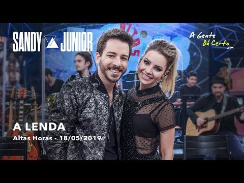A LENDA - #Sandy e #Junior (Ao Vivo - Pseudo Video) mp3