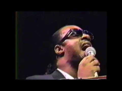 Stevie Wonder sings live at James Cleveland's funeral (better audio)