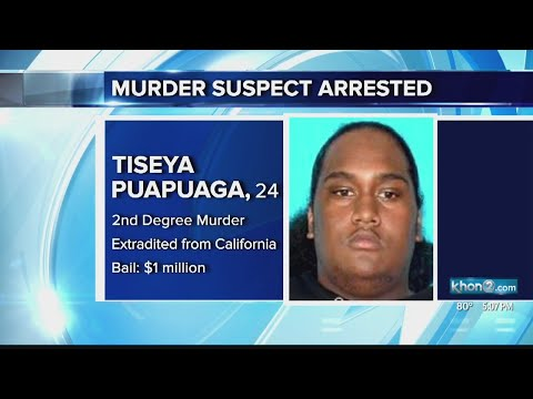Murder suspect arrested in California, extradited to Honolulu