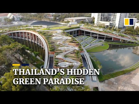 University near Thai capital Bangkok is home to one of Asia's largest rooftop farms