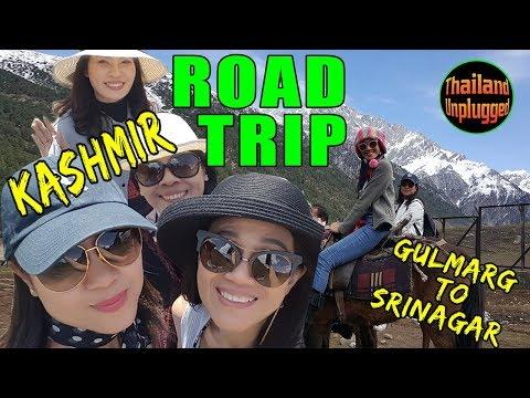 Road trip from  Gulmarg  to Srinagar (Jammu and Kashmir)