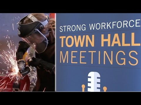 Workforce town halls brainstorm closing skills gap in California