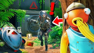 J'espionne BOSS PREDATOR pendant 24h ! Je DECOUVRE son SECRET ! Il est INVISIBLE ! Fortnite Saison 5