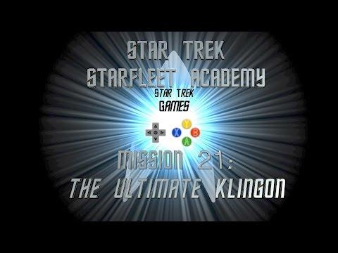 Star Trek Starfleet Academy Mission 21: The Ultimate Klingon - Star Trek Games