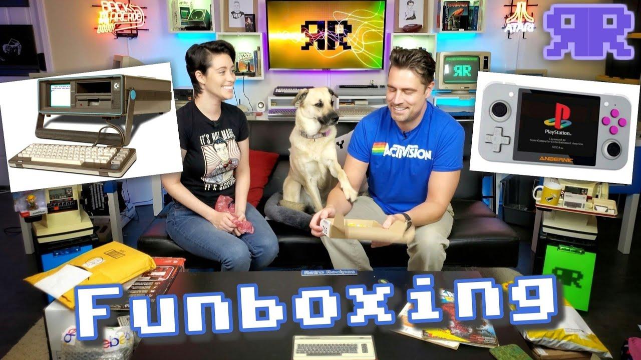 Retro Funboxing: SX-64, Handheld Emu, VCS, Flashback, Amiibo, Amstrad, C64 A/V   June 2020