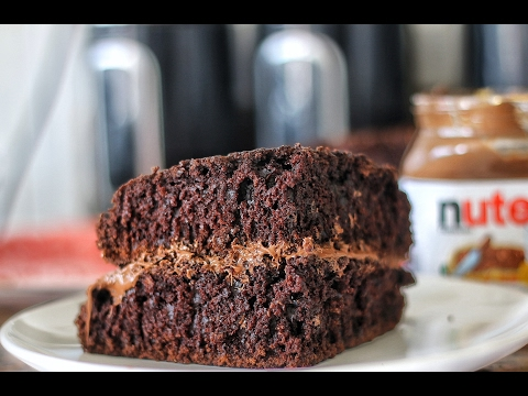 Easy Chocolate Cake With Nutella