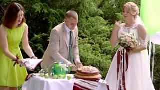 Видеосъёмка выездной церемонии для Даши и Сергея. Яготин 2016.
