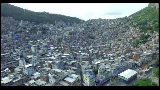 Rocinha Favela, Rio De Janeiro - Drone