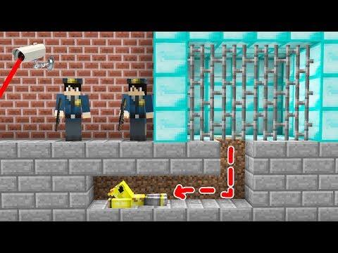 Minecraft BİLİNMEYEN İMKANSIZ HAPİSHANE'DEN KAÇIŞ!