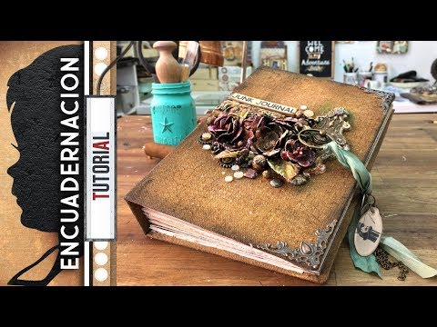 Junk Journal - Encuadernación invisible