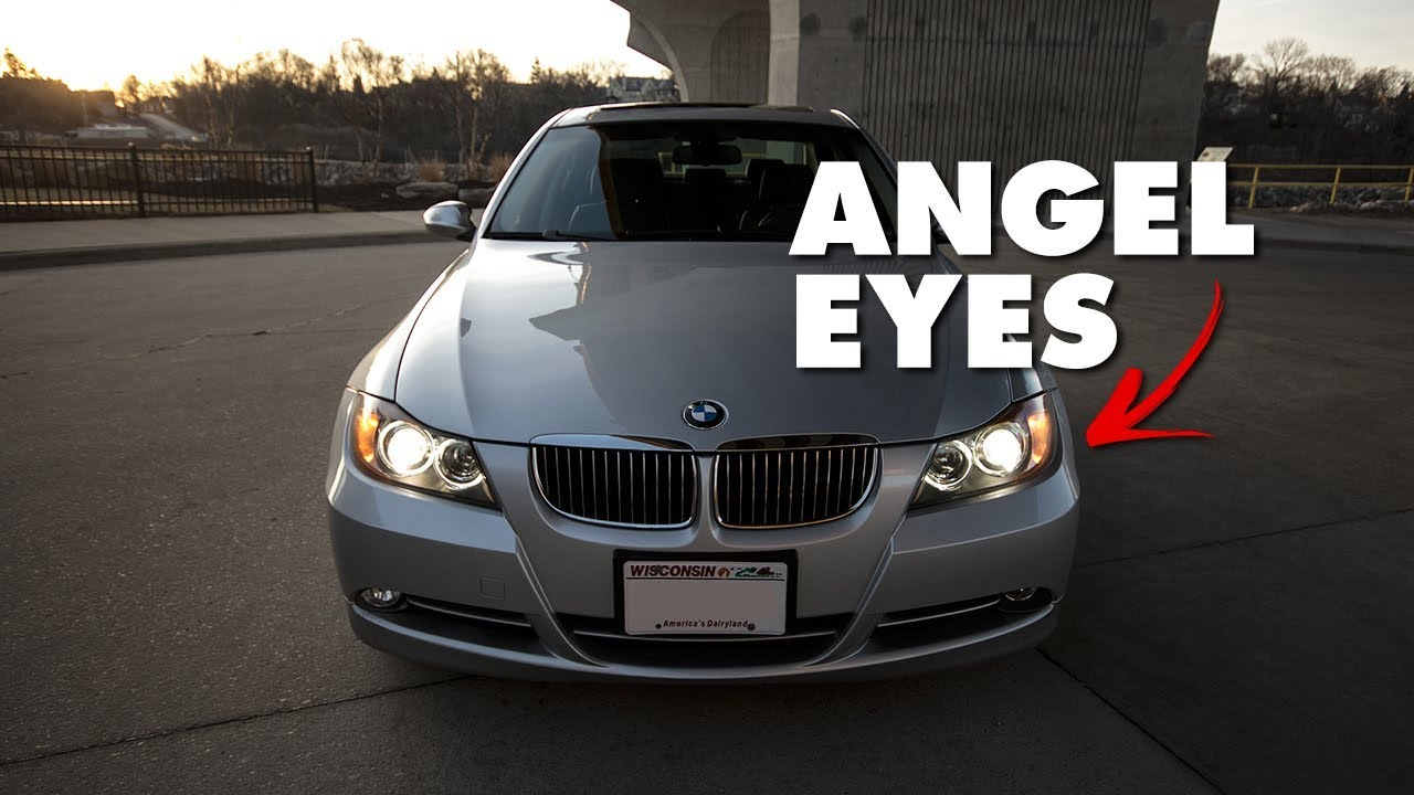 Bmw E90 How To Replace Headlight Angel Eye Bulbs Diy For 335i