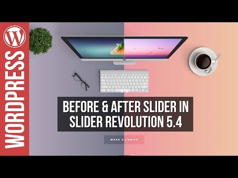 Slider Revolution 5: NEW Before & After Slider Tutorial - 동영상