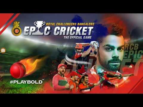 rcb epic cricket game