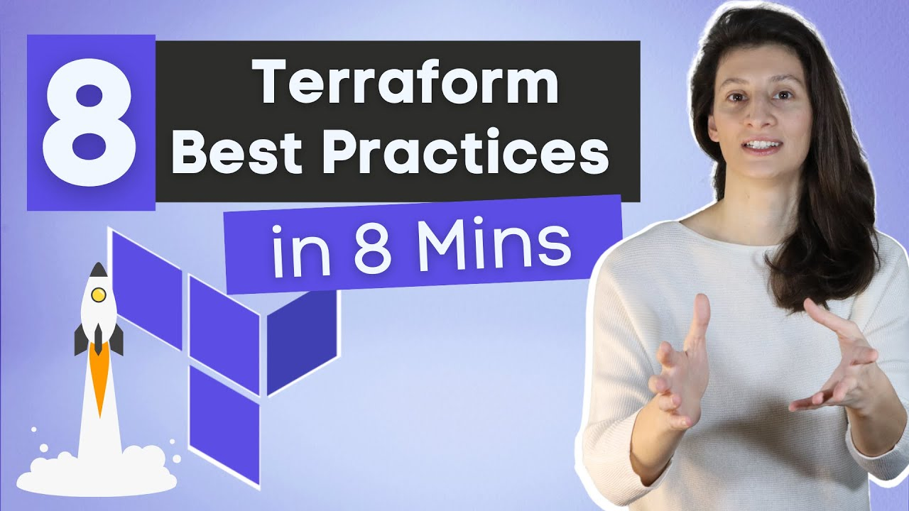 Download 8 Terraform Best Practices that will improve your TF workflow immediately