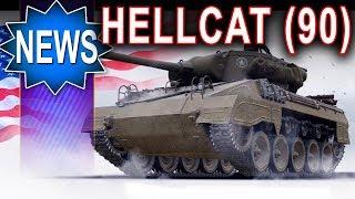 M18 (90) nowy Hellcat gdy wypijesz za dużo :) World of Tanks